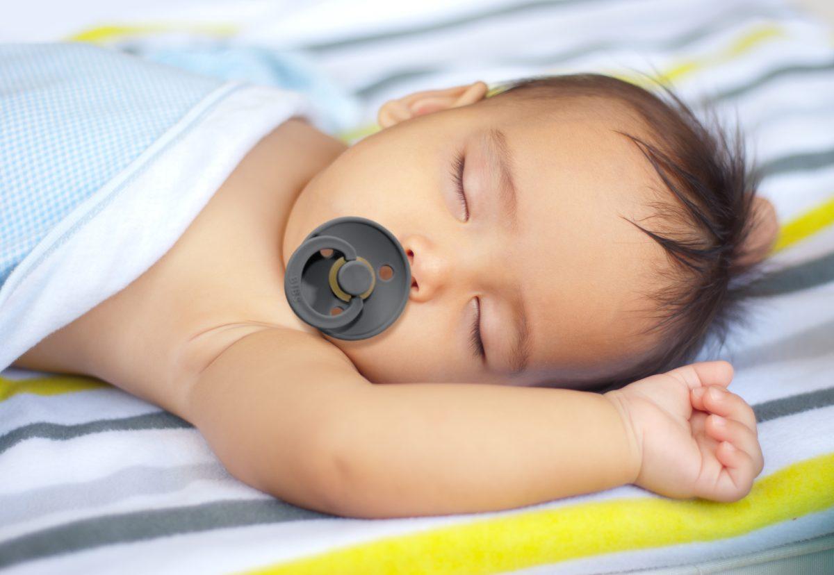 BIBS Pacifiers - Baby sleeping