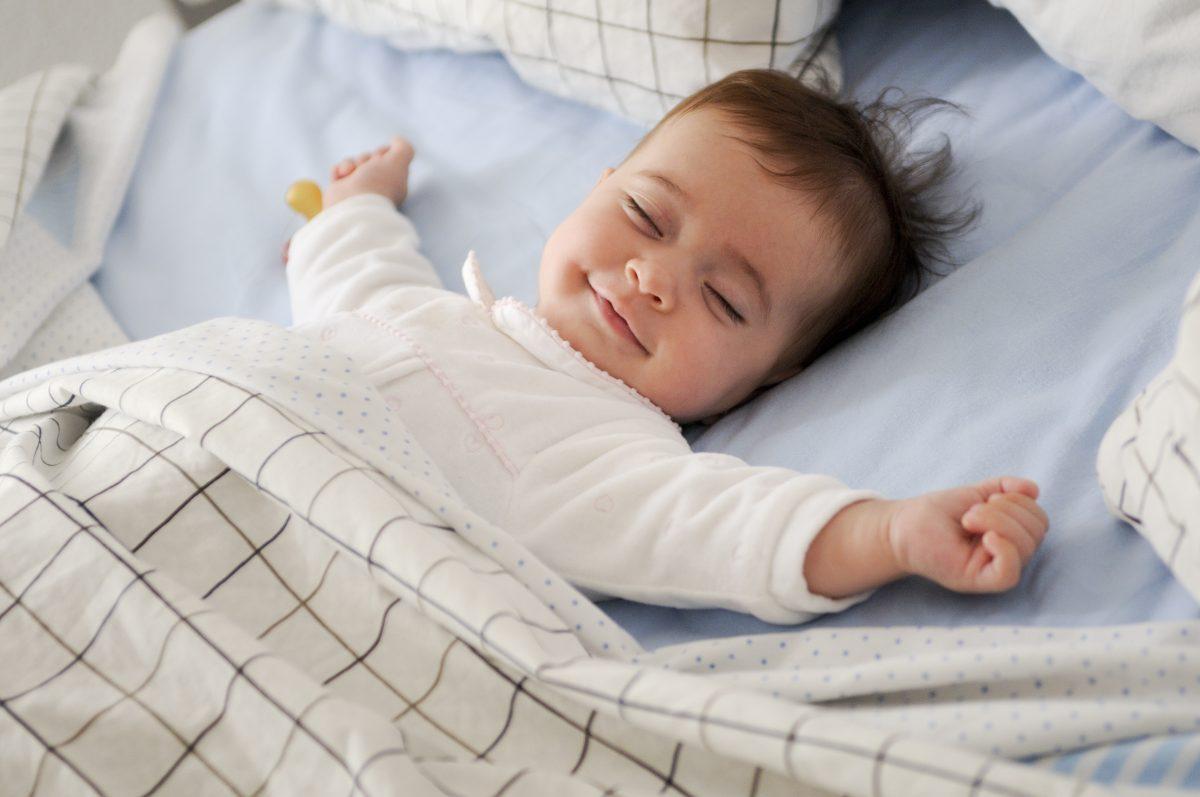 BIBS Pacifiers - Baby sleeping 2