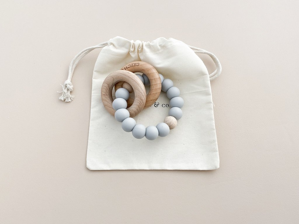 Grech Co. - teether ring - Glacier