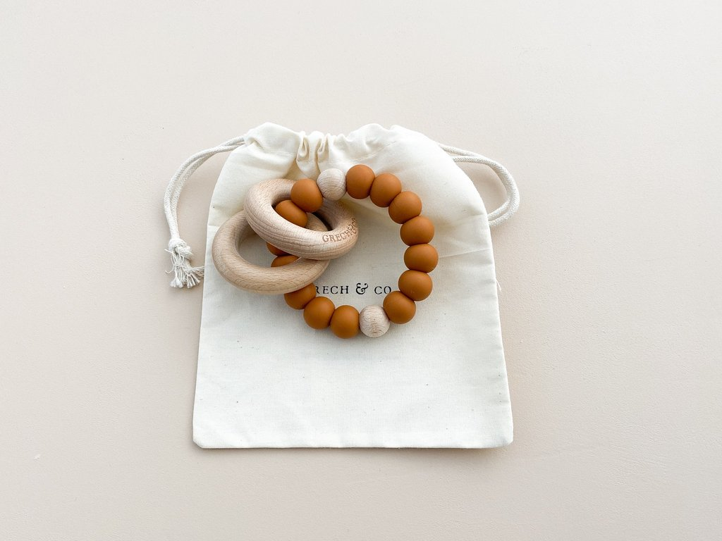 Grech Co. - teether ring - Spice