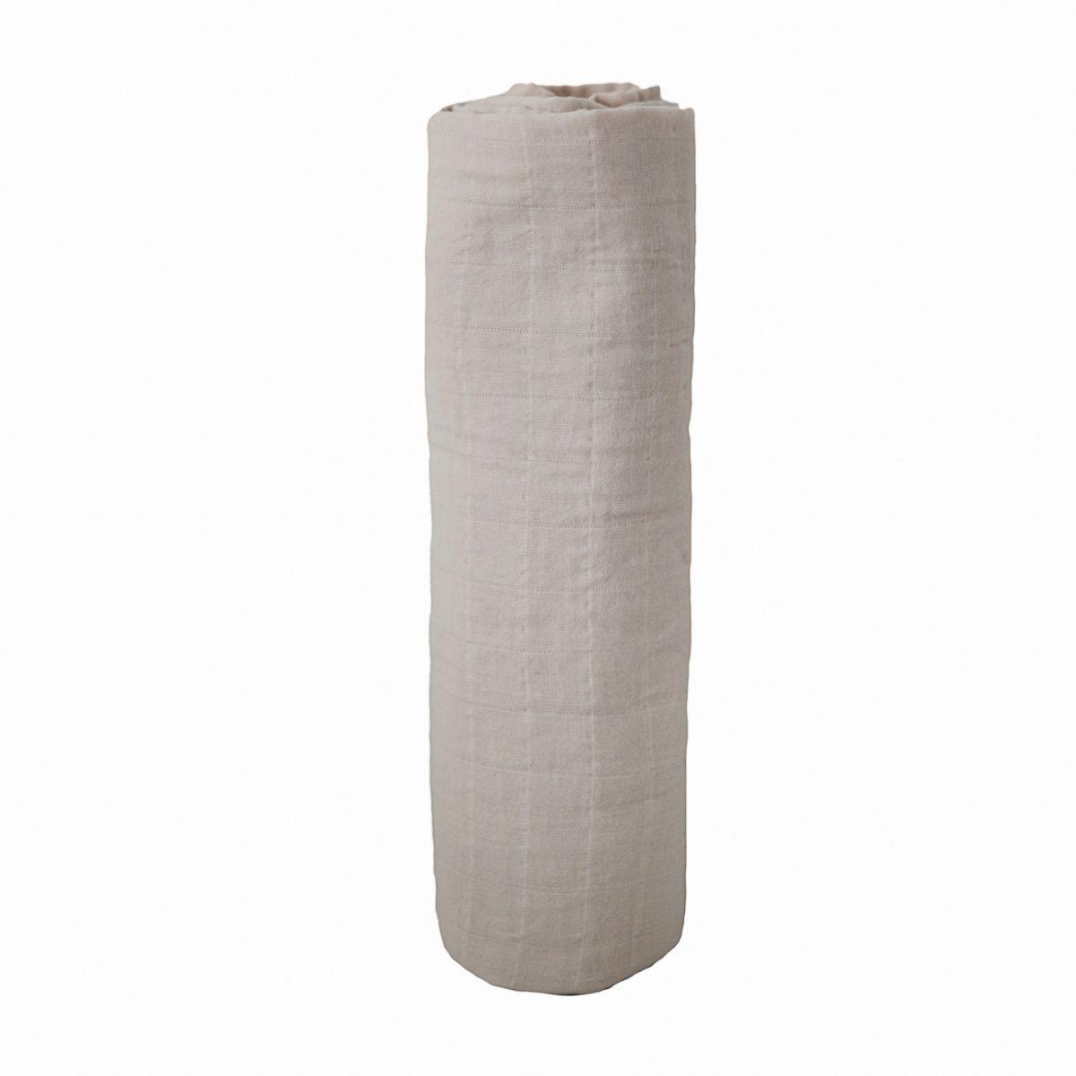 Mushie Swaddle Blanket - Fog alt