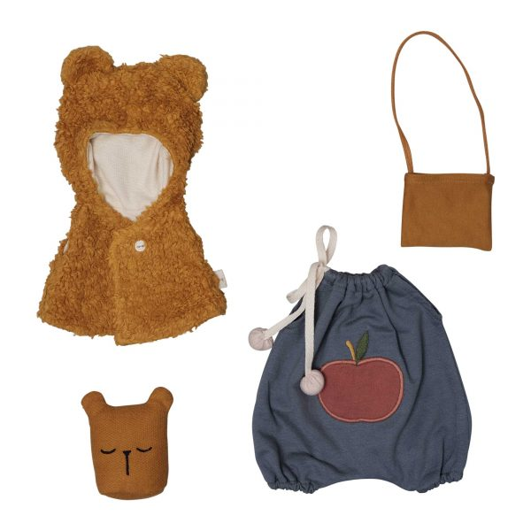 Fabelab Dolls Clothes Bear Cape