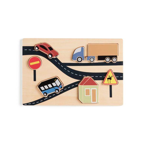 Kids Concept Puzzle Road