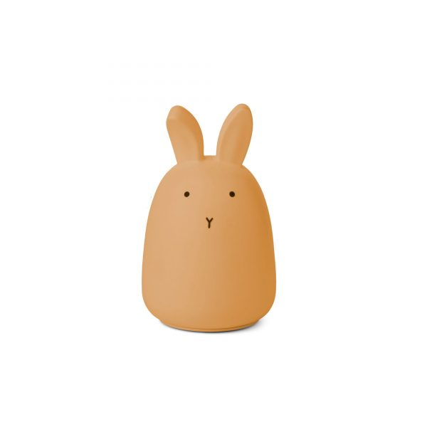 Liewood Night Light Rabbit Yellow
