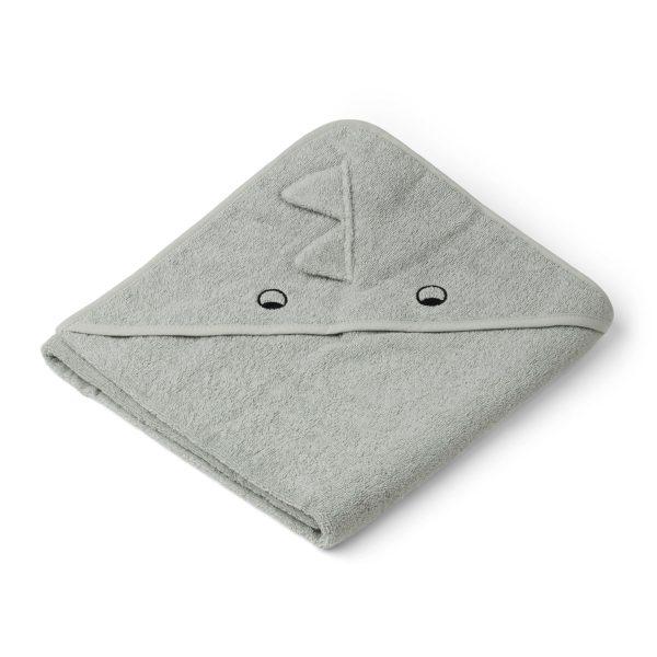 Liewood Towel Dino Dove Blue