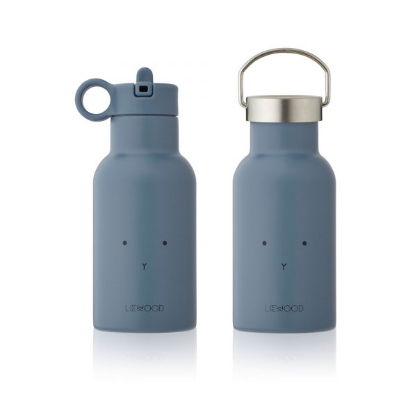 Liewood water bottle Rabbit Blue Wave