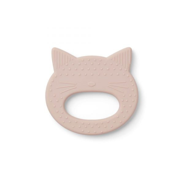 Liewood Gemma Teether Cat rose