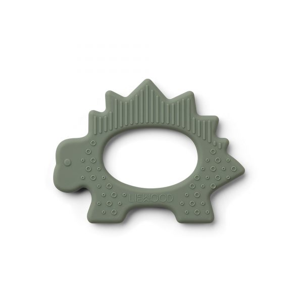 Liewood Gemma Teether Dino faune green