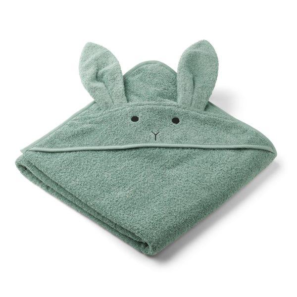 Liewood towel Rabbit Peppermint