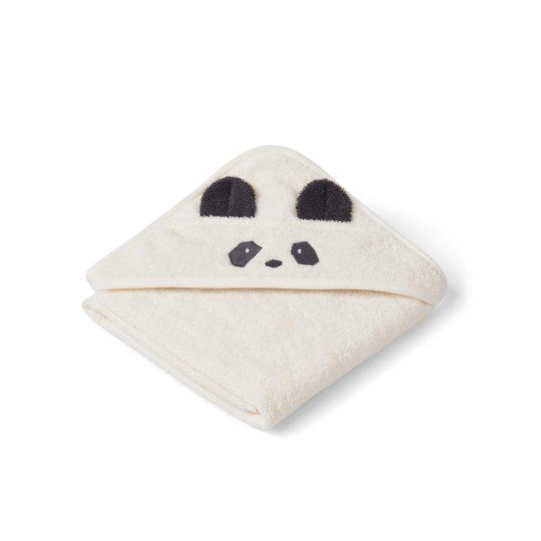 Liewood towel panda creme de la creme