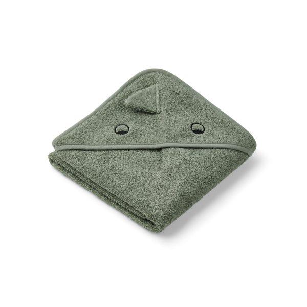 LIEWOOD Albert Towel Dino Faune Green