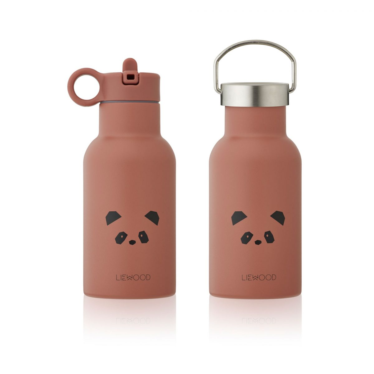 Liewood water bottle Panda Dark Rose Mint