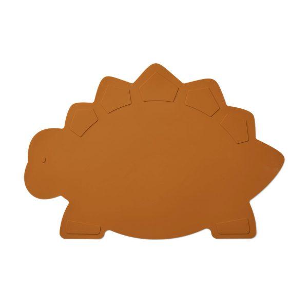 LIEWOOD Placemat Dino mustard
