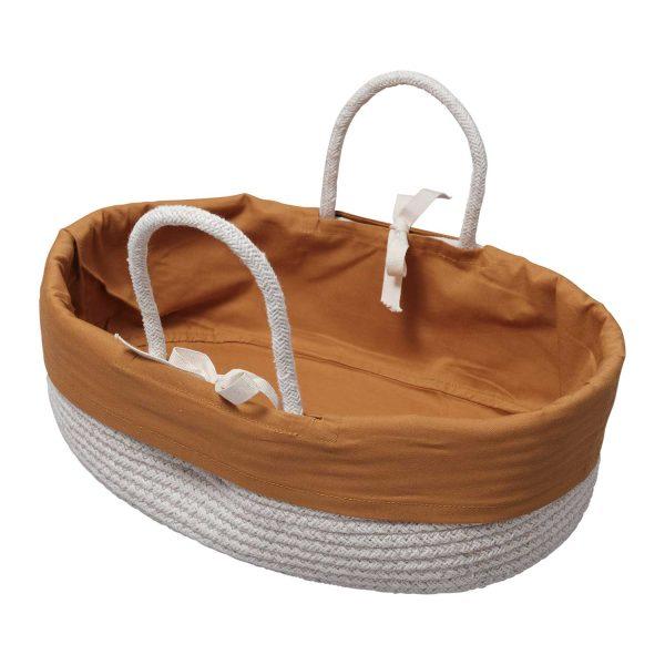Fabelab Doll Basket Ochre