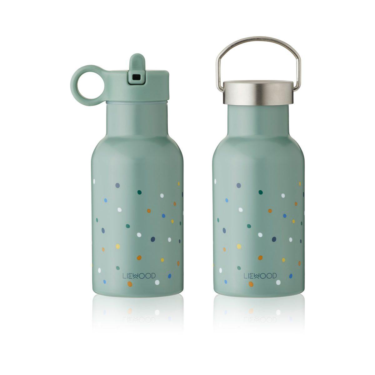 Liewood Anker Water Bottle Confetti Peppermint