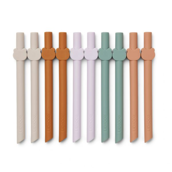 LIEWOOD Badu straws multi mix