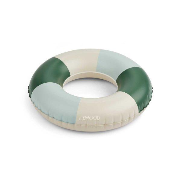 LIEWOOD Baloo Swimming Ring Garden Green Blue