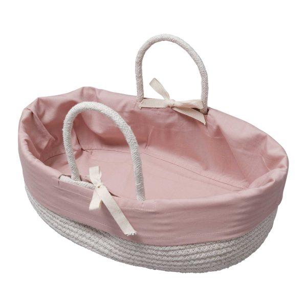 Fabelab Doll Basket Mauve