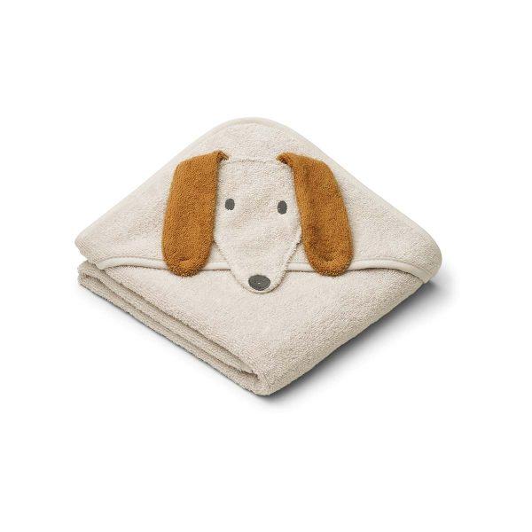 LIEWOOD Dog sandy towel
