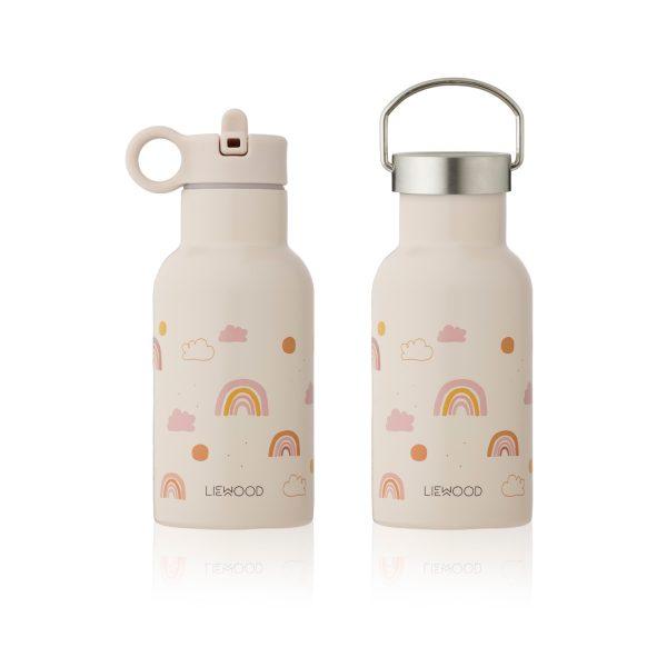 Liewood Water Bottle Rainbow Love