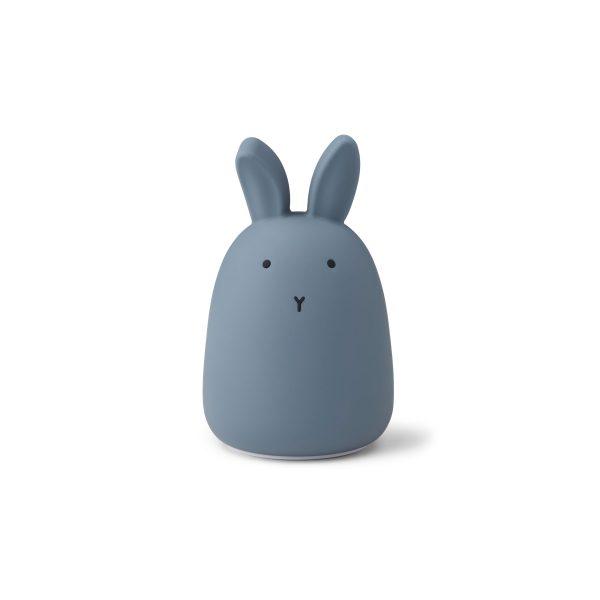LIEWOOD Winston Rabbit night light Stormy Blue