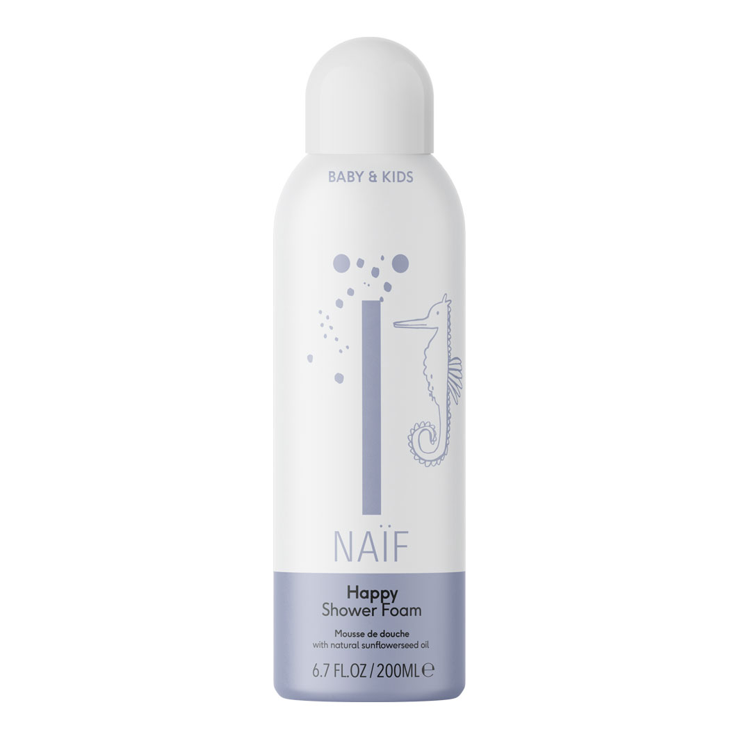 Naif shower mousse