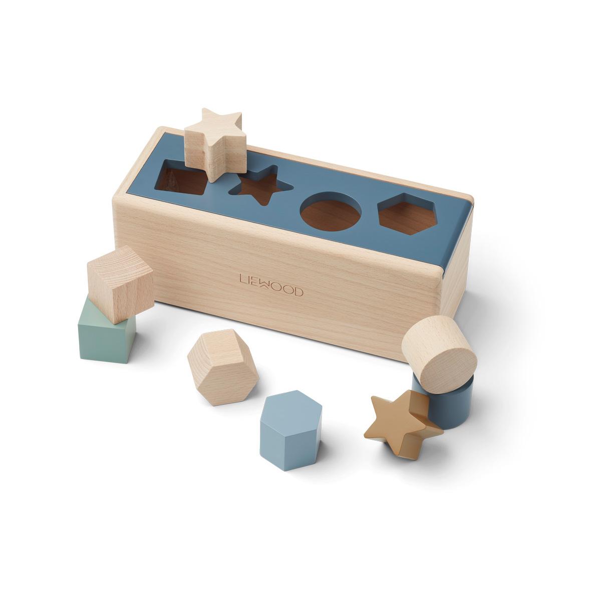 LIEWOOD Midas puzzle blue, geometry